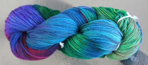 Hand-dyed wool 2