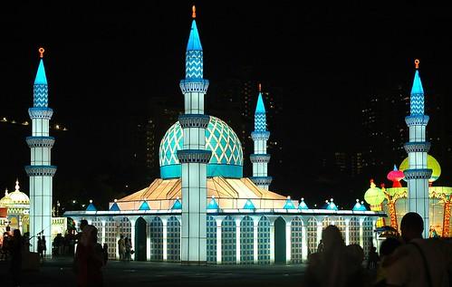 Shah Alam Mosque.