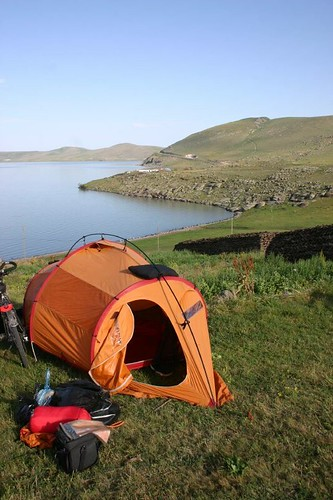 Not a bad morning to wake up! Lake Cildir, Turkey.