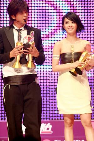 Jolin Tsai and Alan Luo, Metro Radio music awards 2007