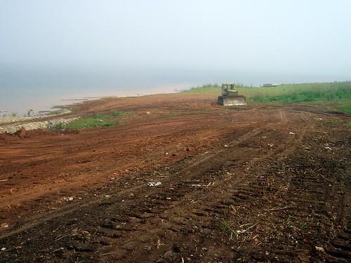 Берег Братского водохранилища \ Bank of Bratsk reservoir