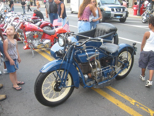 Excelsior-Henderson with sidecar