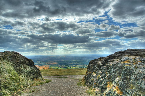 Malvern Hills View in HDR