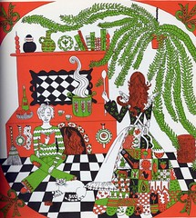Vintage cookbook illustration