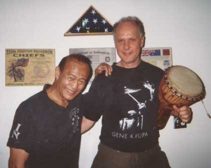 Dan Inosanto and Buddy Helm