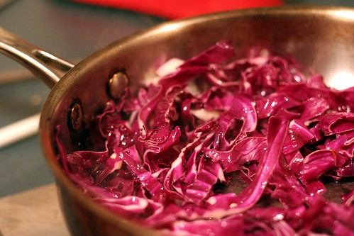 Le red cabbage