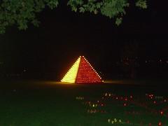 Lichterfest 2006 Pyramide