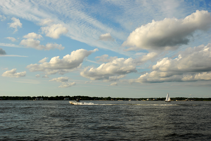 Great South Bay in July