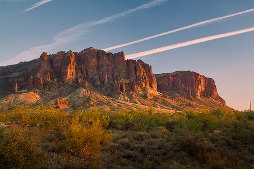 Sunset at Superstition - Redeveloped