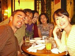 Paco, Kaoru, Hiromi y Hitomi