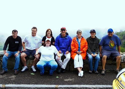 DCMM on Skyline Drive: Group Photo