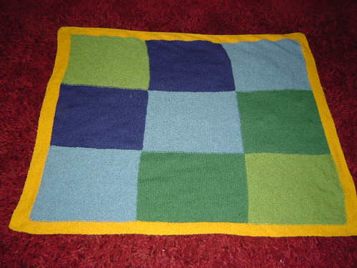 ian's blanket completed