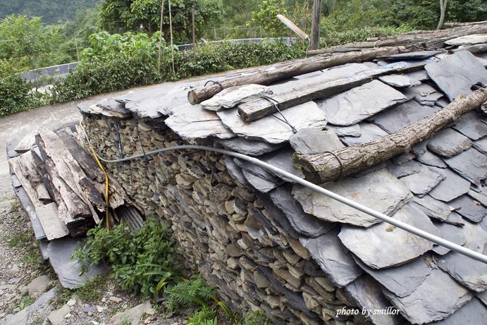 阿禮部落的石板屋
