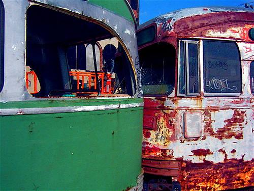 Trolley Cars, Red Hook