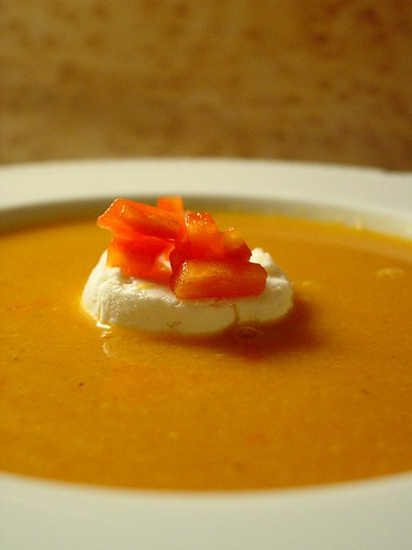 Corn and Red Pepper Soup (1)