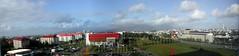 Panorámica desde el hotel Saga en Reykjavik