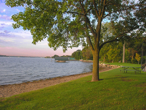 Wayzata Beach,September morning