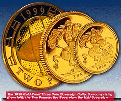 1999gold3coinset