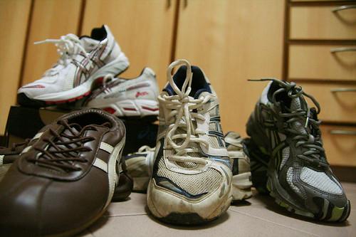 MY asics shoes