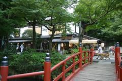 深大寺の茶屋2