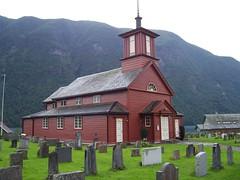 Church at Fjærland