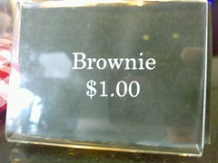 Brownie for a buck
