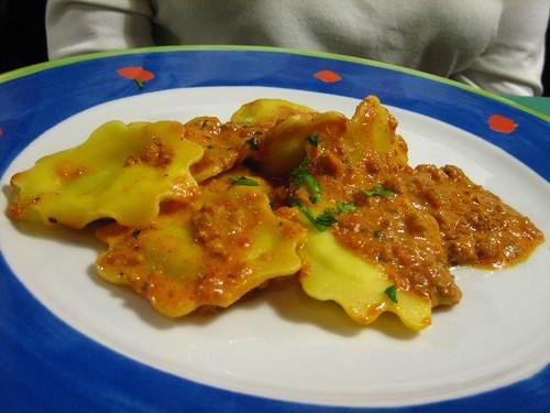 Chef's Special Fish Ravioli