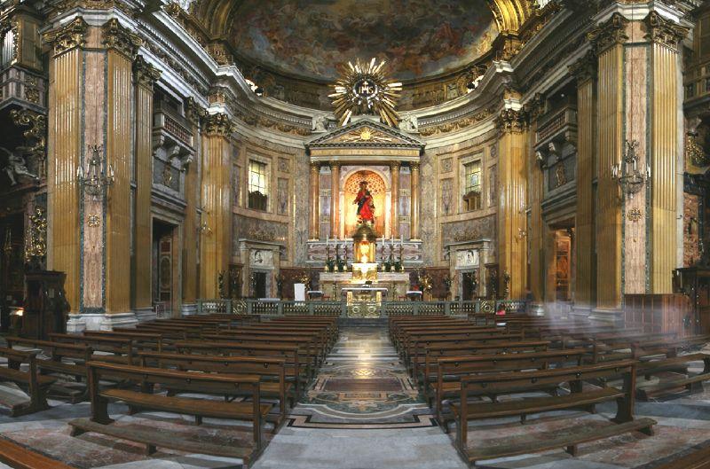 Chiesa del Sacro Nome di Gesù, Principal Jesuit church in Rome
