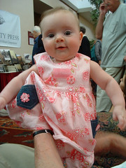 Camille at the bookfest