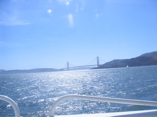 Golden Gate Bridge (from the water)