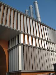 Fassade silber