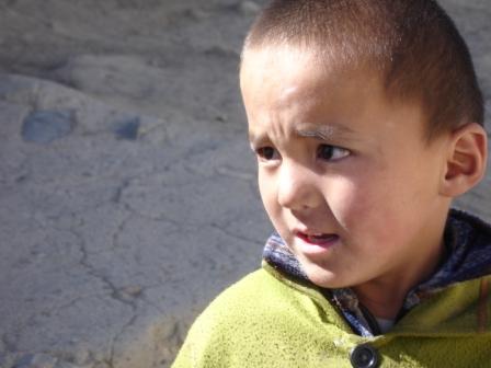 A young lad in in Murgab, Tajikistan