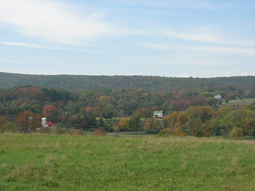 Autumn hills in NJ