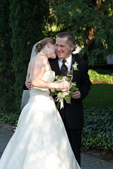 corinne & ken after the ceremony