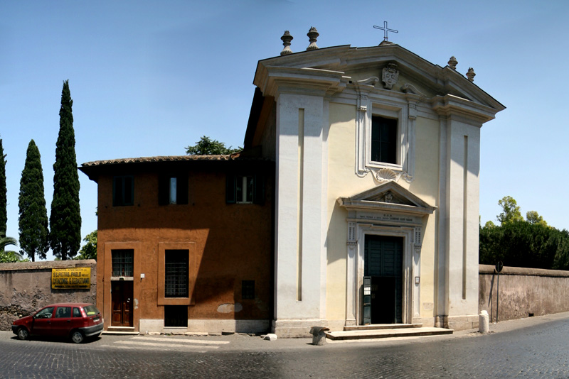 Domine Quo Vadis (also called Chiesa di Santa Maria in Palmis), Rome