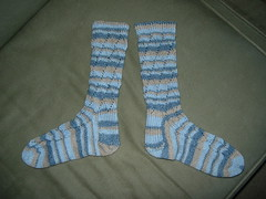 Pomatomus socks are done!