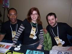 Masheka Wood, Mikhaela Reid, Matt Bors