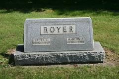 Mahlon A Royer