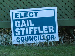 Municipal Election Sign 3