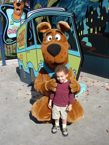 Aidan & Scooby Doo!