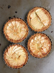 Apple Frangipane Tartlets (1)