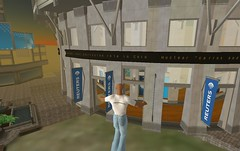 Reuters office in Second Life