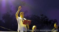 Abertura da Quermesse de Santa Rita - 2018