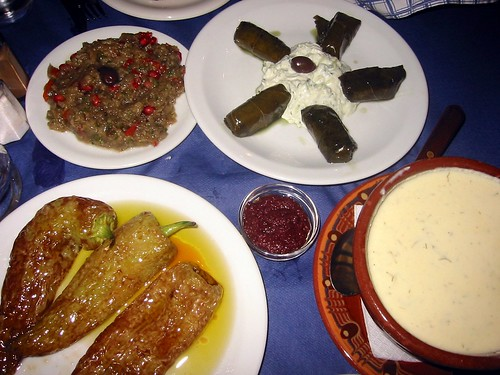 Dinner at Lucullus