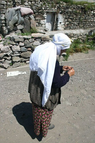 Cildir woman, Turkey