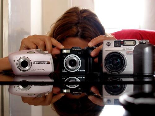 La meva família de càmeres Olympus