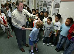 Jeb In School