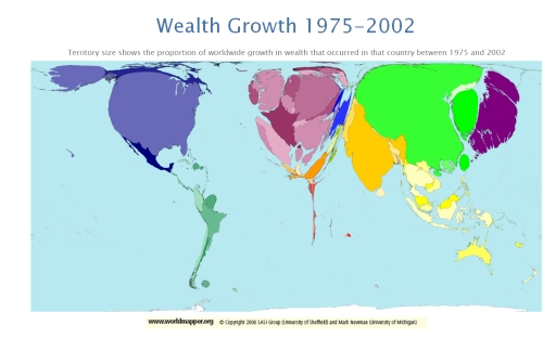 Wealth Growth map