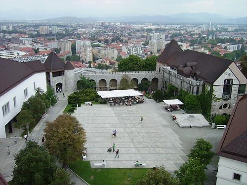 Castillo de Ljubjana