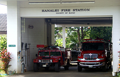 The Hanalei Fire Station, Kauai
